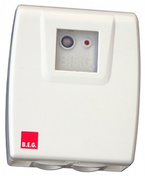 BEG Белый Выключатель сумеречный, накладной монтаж, IP54 арт. 92369