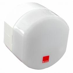 BEG Белый Выключатель сумеречный с дист. упр. и встроенным таймером, накладной монтаж, IP54 арт. 92367