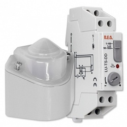BEG Белый Выключатель сумеречный с электр. модулем IP54 арт. 92681