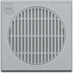 BT Axolute Алюминий Предохранительный трансформатор, вход 230В, 50/60 Гц, выход 12В, 4 ВА, 2 мод арт. HC4541