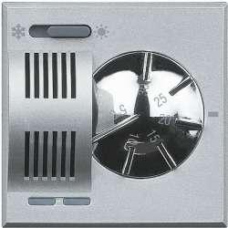 BT Axolute Алюминий Термостат электронный комнатный со встроенным переключателем режимов 2 А, 250 В арт. HC4442