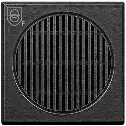 BT Axolute Антрацит Предохранительный трансформатор, вход 230В, 50/60 Гц, выход 12В, 4 ВА, 2 мод арт. HS4541