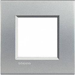 BT LL Алюминий Рамка прямоугольная, 2 мод арт. LNA4802TE