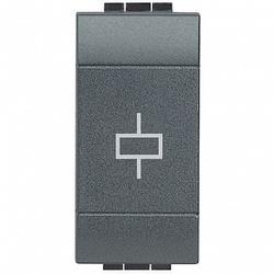 BT LL Антрацит Вставка реле с перекидным NO/NC контактом 10 (4) А 230 В арт. L4330/230