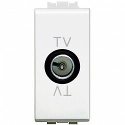 BT LL Бел Розетка TV проходная, 1 мод арт. N4202P
