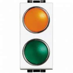 BT Сигнальный элемент, оранжевая/зеленая 1 модуль для ламп 11250L-11251L-11252L арт. N4372AV