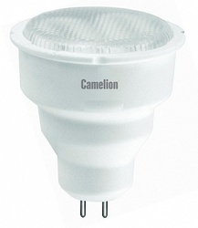 Camelion Лампа люминесцентная компактная MR-16, 5Вт, 220В, GU5.3, ярко-белая арт. FC5-JCDR/842/GU5.3