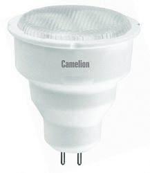 Camelion Лампа люминесцентная компактная MR-16 5Вт, 220В, GU5.3, тёпло-белая арт. FC5-JCDR/827/GU5.3