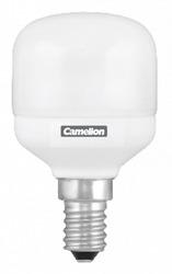 Camelion Лампа люминесцентная компактная Т-образная колба, 7Вт, 220В, E14, тёпло-белая арт. FC7-T45/827/E14