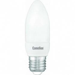 Camelion Лампа люминесцентная компактная свеча 9Вт, 220В, E27, ярко-белая арт. FC9-C/842/E27