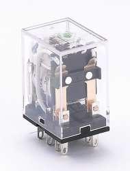 DEKraft ПР-102 Промежуточное реле 2 конт. с инд. LED 5А 24В DC арт. 23218DEK