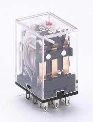 DEKraft ПР-102 Промежуточное реле 3 конт. с инд. LED 5А 12В AC арт. 23222DEK