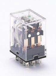 DEKraft ПР-102 Промежуточное реле 3 конт. с инд. LED 5А 12В DC арт. 23224DEK