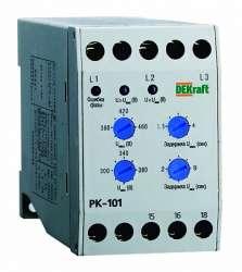 DEKraft РК-101 Реле контроля фаз 380В тип 01 арт. 23300DEK