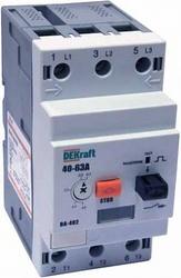 DEKraft ВА-402 Автоматический выключатель защиты двигателя 3P 25-40A 35кА арт. 21212DEK