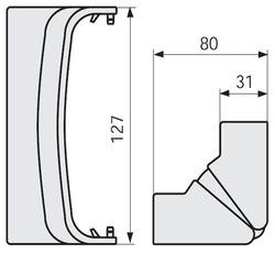 DKC AIBA A Угол внутренний арт. 04026