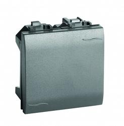 DKC Brava Черный Инвертор (промежуточный переключатель) 2 мод арт. 77032N
