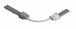 DKC Гибкий поворот шинопровода, Cu, 6P, 25A арт. LTC25LFLXJAA000