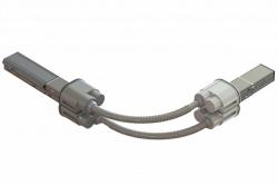 DKC Гибкий поворот шинопровода, Cu, 6P+6P, 25A арт. LTC25MFLXJAA000