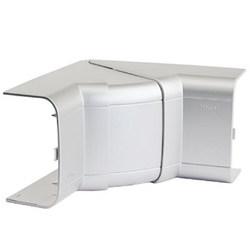 DKC In-Liner Aero Угол внутренний изменяемый с разделит.для короба 140х50мм,серый металлик RAL 9006 арт. 01451G
