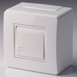 DKC In-Liner Коробка в сборе с выключателем, белая арт. 10002