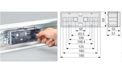 DKC In-Liner Коробка внутренняя в TA-GN (6/4 М) SAN-6 арт. 02296