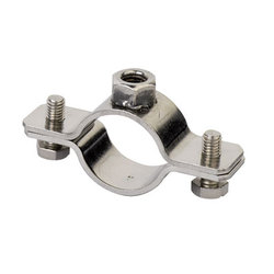 DKC Хомут для тяжелых нагрузок 47-51 (1 1/2) мм, M8, нержавеющая сталь AISI 304 арт. 6040-112