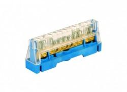 DKC Колодка клеммная соединительная 1p 11x5,3мм синяя арт. 5011N