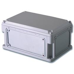 DKC Корпус пластиковый IP67, 400x300x146(высота крышки 21),стенки с выбивн. фланц.,непр-я крышка арт. 543210