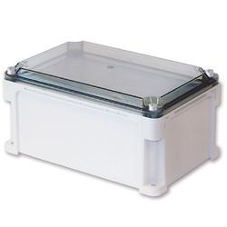 DKC Корпус пластиковый IP67, 400x400x146 (выс.кр. 21), сплош.стенки,прозр.крышка арт. 544201