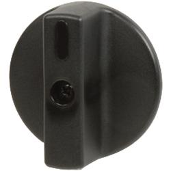 DKC Круглая черн.ручка, д.34, на корпус арт. AZ1801