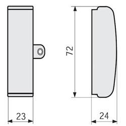 SE Prisma G Панель передняя для верт. стационарных аппаратов NS630 с рычагом управления, Ш = 250мм арт. 03280