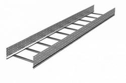 DKC Лоток лестничный 150х600, лонжерон 1,5 мм, L 3 м, цинк-ламель арт. ULM356ZL