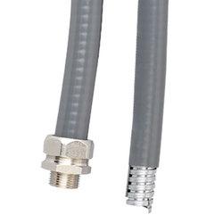 DKC Металлорукав DN 50мм в гладкой EVA изоляции, Dвн 50,5 мм, Dнар 58,5, IP66, 25 м, цвет серый арт. 607E050