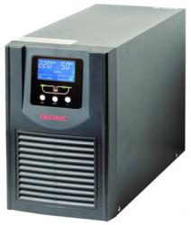 DKC Онлайн ИБП 2 кВА- зарядное устройство 5А- конструктивное исполнение -башня- выходные разъемы - Schuko (3) арт. SMALLB2EXTPS