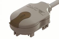 DKC Отводной блок с кабелем 800 мм (H05Z1Z1F), L2/L3, 2P, 10A арт. LTN70APP04AA000