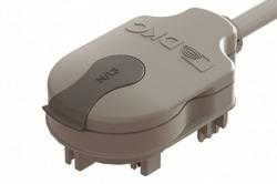 DKC Отводной блок с кабелем 800 мм (H05Z1Z1F), N/L3, 2P, 10A арт. LTN70APP03AA000
