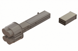 DKC Питающий элемент + заглушка, тип 2, Cu, 6P, 25A арт. LTC25LFED4AA000