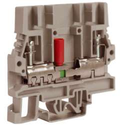 DKC SCB.6GR, тестовый с разъединителем серый 6 кв.мм арт. ZSB200GR