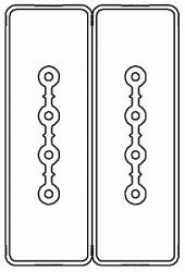 DKC Секция прямая шинопровод 1+1 точек отвода L=1000мм Cu 4P+4P25A арт. LTC25FSP44AA000