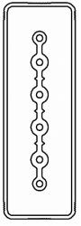 DKC Секция прямая шинопровод 2+0 точек отвода L=3000мм Cu 6P 40A арт. LTC40LSP41AA000