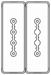 DKC Секция прямая шинопровод 2+2 точек отвода L=3000мм Cu 4P+2P25A арт. LTC25NSP41AA000
