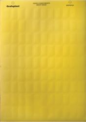 DKC Табличка маркировочная, полиэстер 9х15мм. желтая арт. SITFP0915Y
