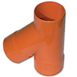 DKC Тройник для двустенных труб,45 ,полипропилен, D=140мм арт. 019140
