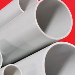 DKC Труба ПВХ жёсткая атмосферостойкая д.63мм, тяжёлая, 3м, цвет серый арт. 63563UF
