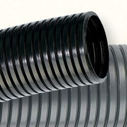 DKC Труба гофр. DN29мм, ПВ-2, Dвн 28,3 мм, Dнар 34,5 мм, полиамид 6, цвет чёрный, с протяжкой арт. PA612935F2
