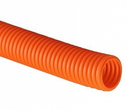 DKC Труба гофрированная ПНД легкая D=20mm (100m) оранжевая арт. 70920