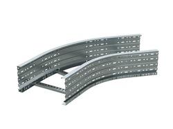 DKC Угол лестничный 45 градусов 100x700, цинк-ламель арт. ULC617ZL