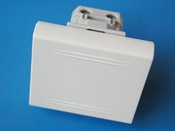 DKC Viva Бел Выключатель однополюсный, 1мод арт. 45011