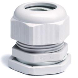 DKC Зажим кабельный с контргайкой, IP68, PG9, D=4 - 8мм (упаковка) арт. 52600